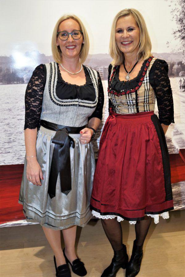 Theresa Scharax und Sabine Sulzbacher.