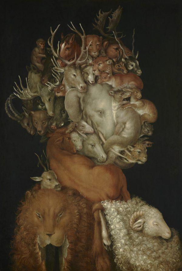 """Werke aus verschiedensten Epochen. Kleines Bild: """"Terra"""" von Giuseppe Arcimboldo.Kunstmuseum liechtenstein (1)/LIECHTENSTEIN. The Princely Collections, Vaduz-Vienna (1)"""