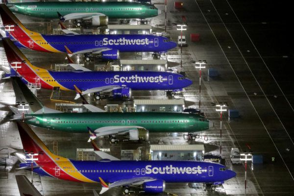 Boeing 737 Max Airplanes.  Reuters