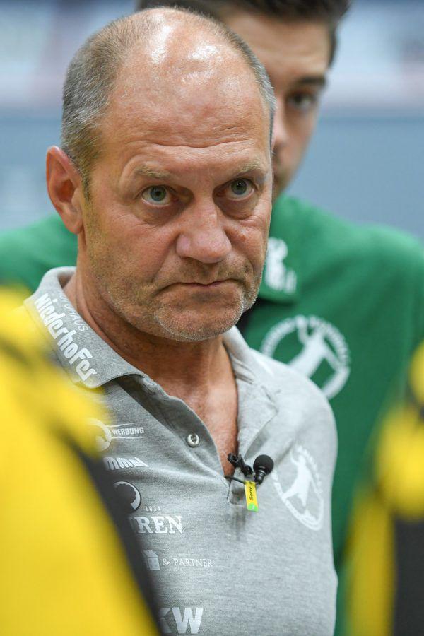 Bregenz-Trainer Markus Burger.GepA/Lerch