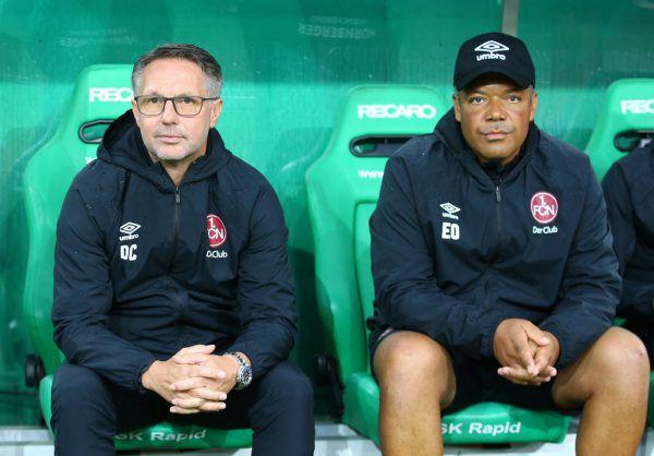 Damir Canadi (l.) und Eric Orie (r.) sind beim 1. FC Nürnberg nach nur vier Monaten gescheitert.Gepa