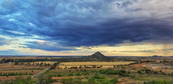 """Die Region um den """"Pyramid Hill"""" im australischen Staat Victoria ist nur dünn besiedelt. Viele Einheimische wandern ab. Shutterstock"""