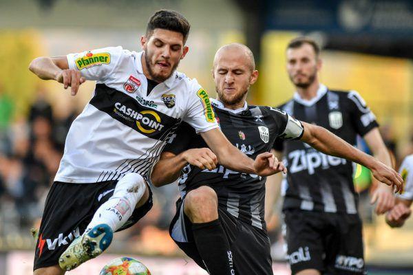 """Emir Karic (l.) sieht jeden Spieler in der Pflicht: """"Es ist eine Ehrensache und es geht nicht um das Ego jedes Einzelnen.""""Gepa/Lerch"""