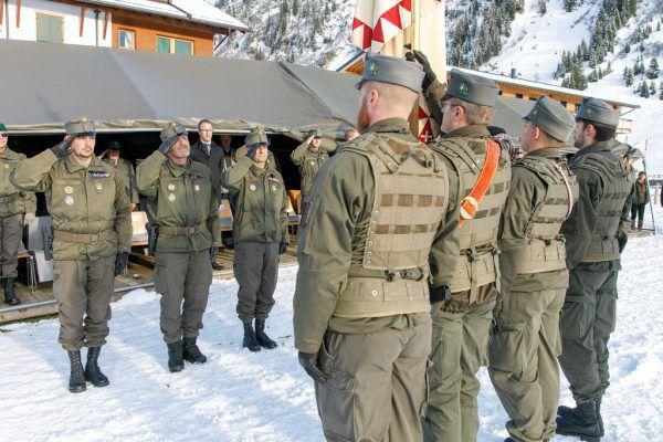 Die Soldaten sind für Einsätze bereit. Hofmeister/Bundesheer