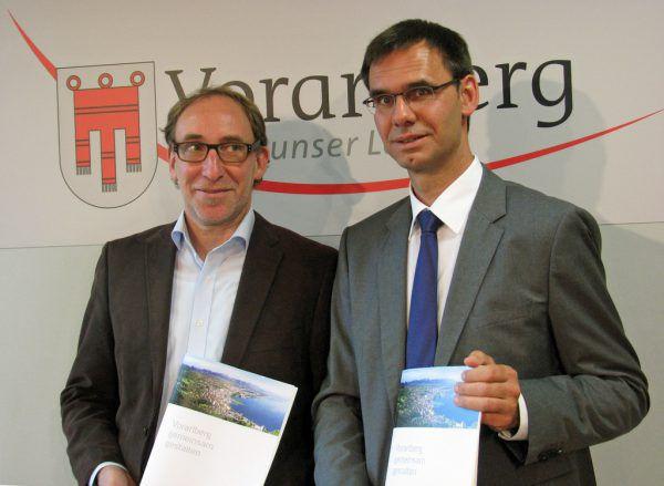 Johannes Rauch und Markus Wallner.VLK