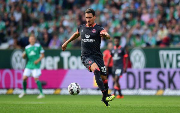 Georg Margreitter fehlt dem 1. FC Nürnberg derzeit mit einer Achillessehnenreizung und wird schmerzlich vermisst.Roland Paulitsch, Gepa