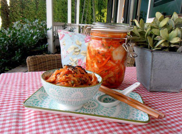 Kimchi ist fermentierter Kohl und darf in Korea auf keinem gut gedeckten Tisch fehlen.Ulrike Hagen