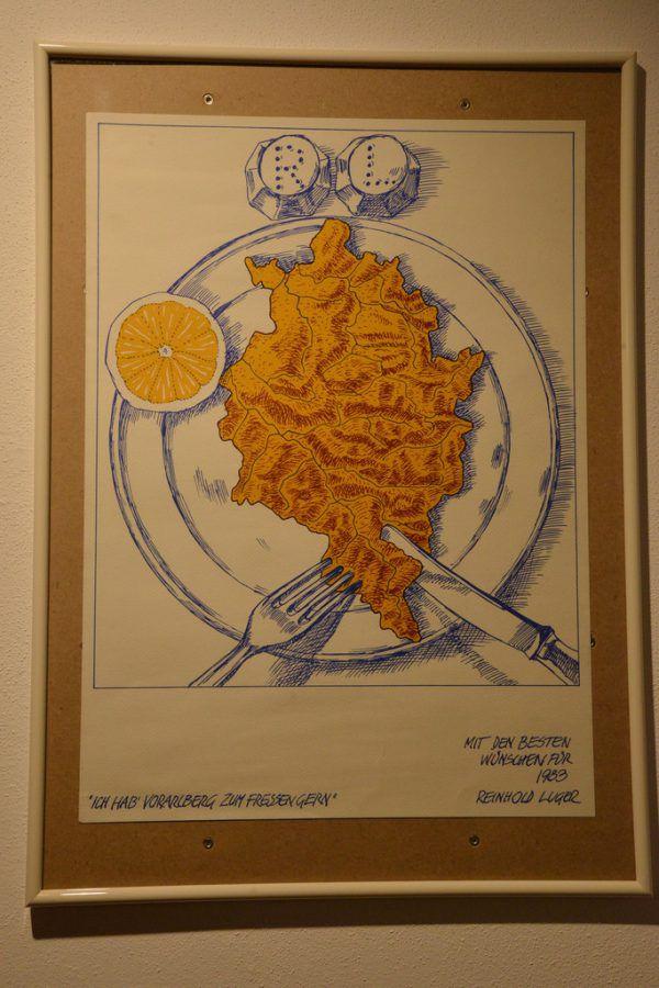 Kleines Bild oben: Werk von Reinhold Lugner, links ein Bild von Walter Khüny.Neue Archiv/Stiplovsek (1)/Wolfgang ölz (2)