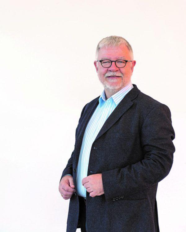 Der Höchster Fraktionsvorsitzende Norbert Rickmann.Partei