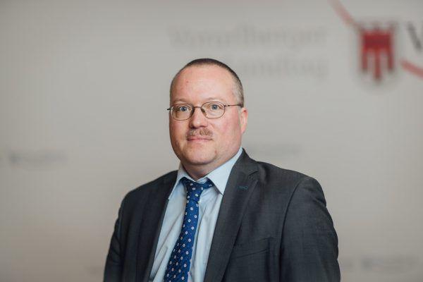 Bezirkshauptmann Harald Dreher.VLK/SAMS