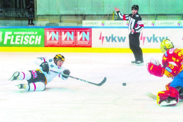 Kevin Puschnik erzielte gegen Asiago vier Tore. Dietmar Stiplovsek