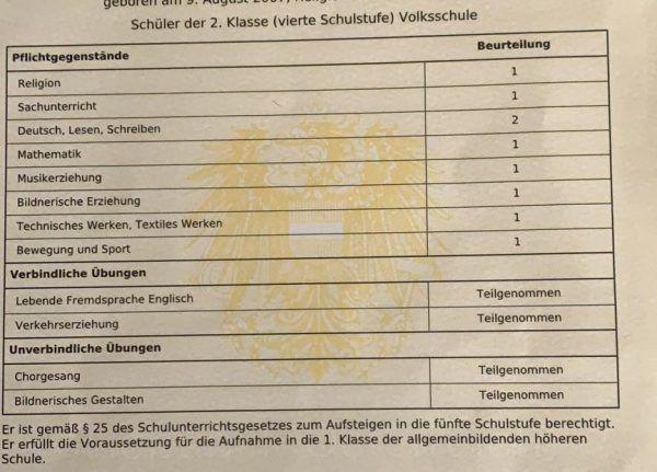 In der VS Kirchdorf gibt es Widerstand gegen Ziffernnoten-Verordnung.Privat/ NEUE