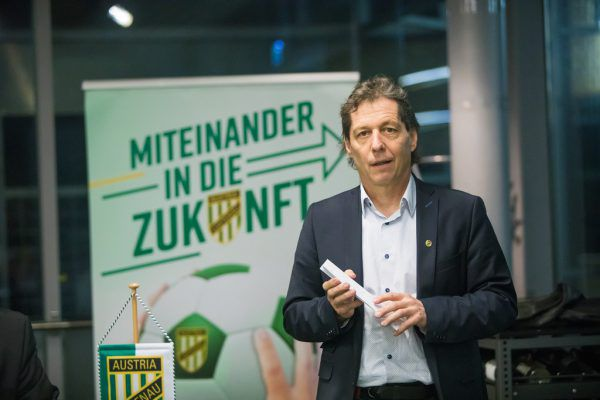 Bernd Bösch bei der Jahreshauptversammlung am Freitag.Philipp Steurer
