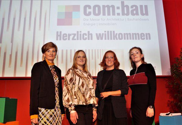 Das MesseOrganisationsteam: Sabine Tichy-Treimel, Alissia Schöflinger, Miriam Hollenstein und Selina Ritsch (v.l.).Ritter (7)