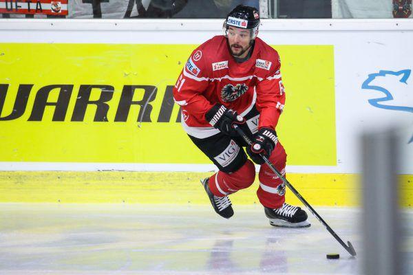 Der Dornbirner Patrick Spannring erzielte den ersten Treffer der Österreicher.gepa