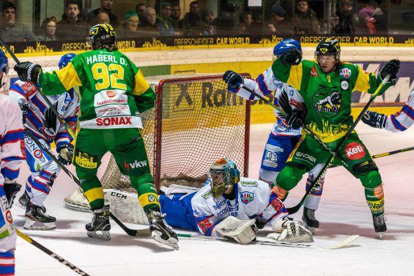 Der EHC konnte zwar sieben Tore erzielen, hier das 2:0, aber verpasste die Top sechs.Dietmar Stiplovsek