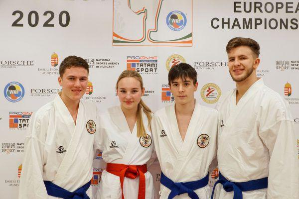 Adrian Nigsch erreichte Rang neun.karate