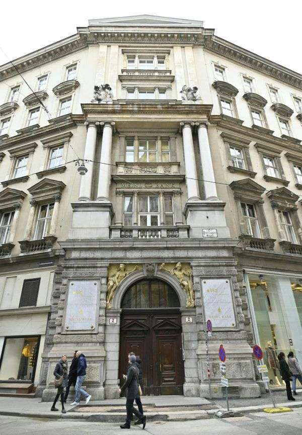 Früher war die Bank unter dem Namen Meinl Bank bekannt.APA