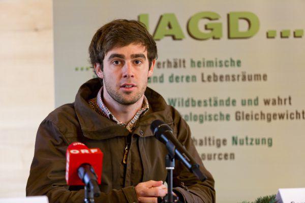 Landesveterinär Greber (l.) betont die Wichtigkeit der Regulierungsgatter, um Tbc einzudämmen. Heigle (r.) befürchtet Fälle wie in Tirol.vlk