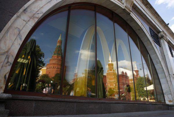 McDonald's war eines der ersten ausländischen Unternehmen, das in der ehemaligen Sowjetunion Fuß gefasst hat.Reuters (3)