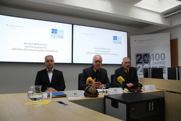 Michael Beyrer, Hans-Peter Ludescher und Werner Fitz (v.l.).Mirjam MAyer