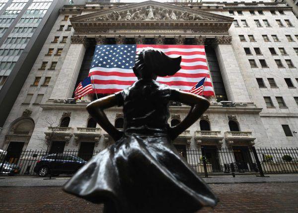 In den USA wurde ein Zwei-Billionen-Dollar-Paket geschnürt.AFP