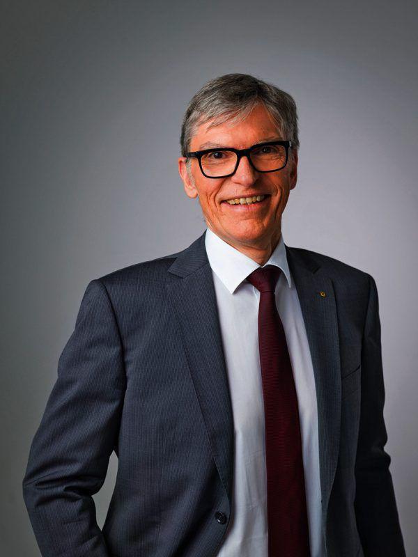 Raiba-Vorstandsvorsitzender Hopfner.FAsching