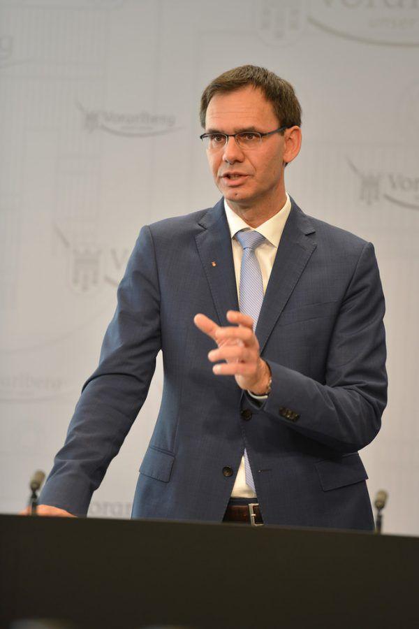Landeshauptmann Markus Wallner.VLK