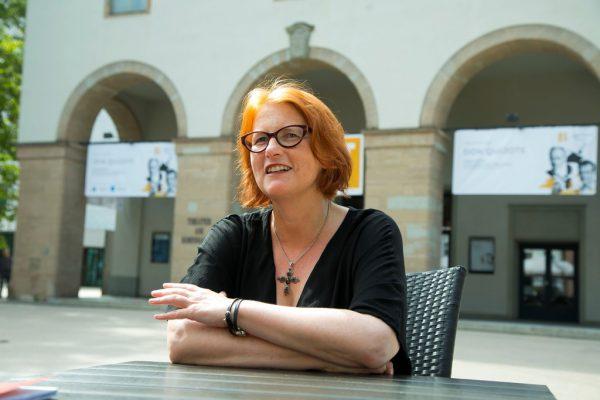 Offen ist noch, wie die Zuschauer im Herbst im Landestheater sitzen werden. Kleines Bild: Stephanie Gräve.Anja Köhler (1)/Paulitsch (1)