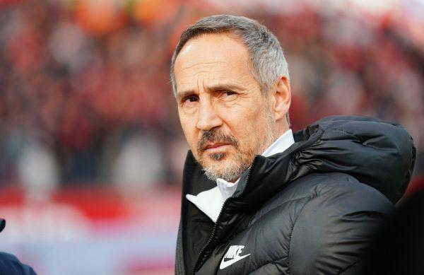 Adi Hütter bestreitet heute sein 100. Spiel als Trainer von Eintracht Frankfurt.Gepa