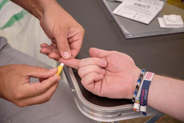 Der HIV-Test schützt vor Spätfolgen.neue