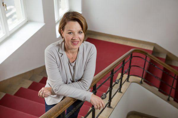Andrea Kaufmann appelliert, Amtsgeschäfte weiterhin digital zu erledigen.Hartinger