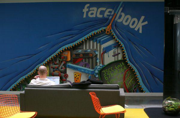 Auch bei Facebook liegt das Arbeiten von daheim im Trend.Symbolbild/Reuters