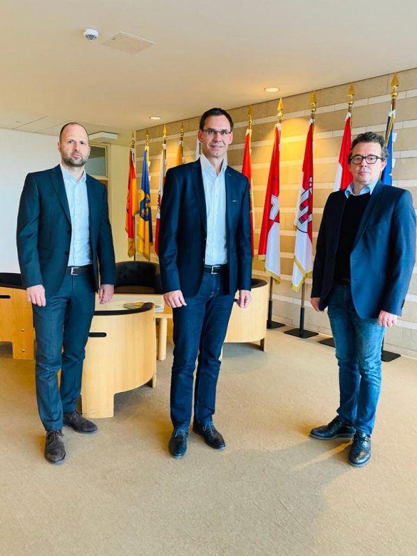 Landeshauptmann Wallner (r.) und Landesrat Tittler laden zum Gespräch.VLK