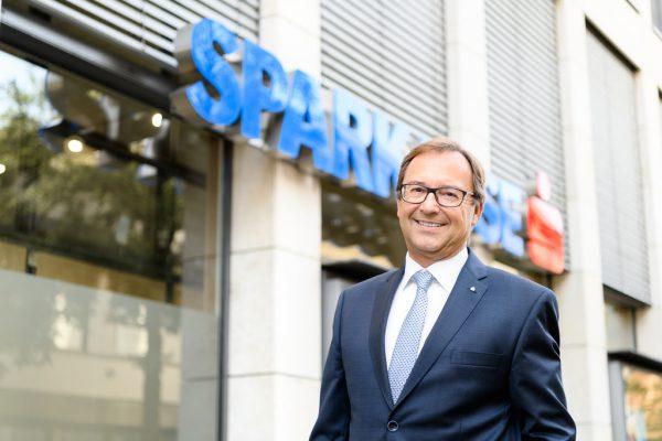 Werner Böhler ist Vorstandsvorsitzender der Dornbirner Sparkasse und Bankensprecher.Matthias Rhomberg/Dornbirner Sparkasse