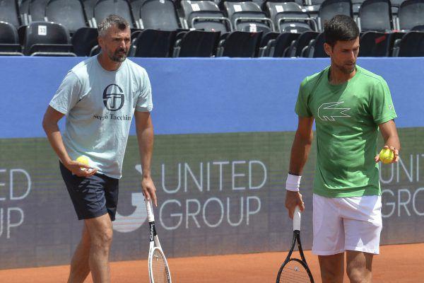 Auch Goran Ivanisevic ist erkrankt.AP