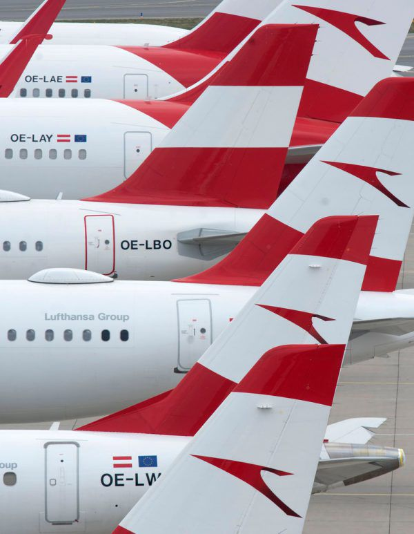Austrian Airlines hofft auf Staatshilfe. AFP