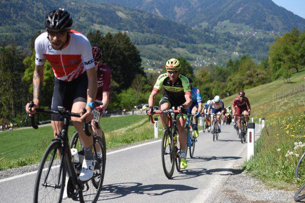 Bei der Tour of the Alps 2019 fuhr Maximilian Kuen ins Rampenlicht.Hartinger, Haumesser