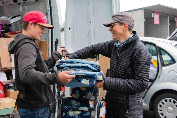 Beim Ausmisten kamen noch viele funktionstüchtige Gegenstände zum Vorschein.Vorarlberger Gemeindeverband/Jürgen Ulmer