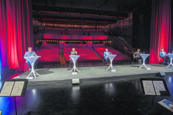 Den Abstand, den die Festspiel-Verantwortlichen bei der gestrigen Präsentation einhielten, wird es auch bei den Festtagen geben.Roland Paulitsch