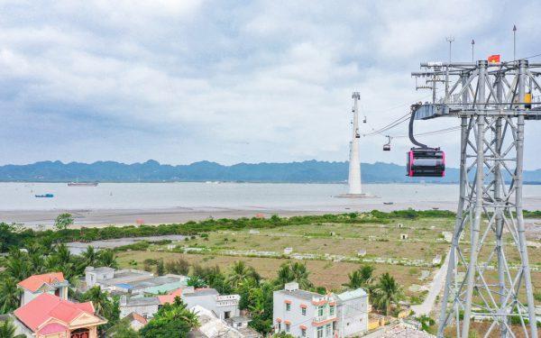Die neue Seilbahn in Vietnam.Doppelmayr