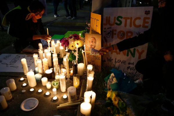 Die USA gedenkt der Opfer rassistischer Vorfälle. AFP
