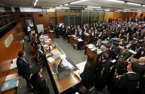 Ende 2015 startete der Prozess gegen den mutmaßlichen Mafiaboss.AFP
