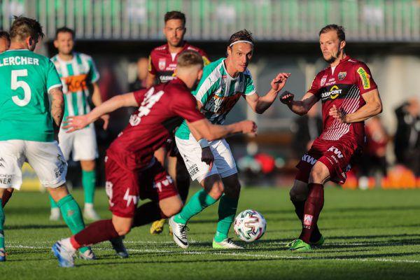 """In einem umkämpften """"Hinspiel"""" im Burgenland Anfang Juni trennten sich die beiden Kontrahenten mit einem 1:1-Remis.gepa"""