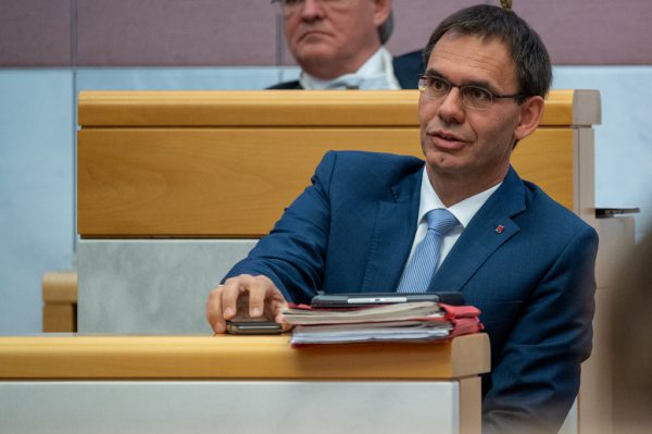 Landeshauptmann Markus Wallner (ÖVP).Oliver Lerch