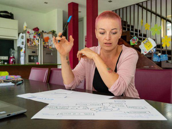 Nadine Dunst-Ender hat Erfahrung als Lebens-, Sozial und Berufsberaterin.Oliver Lerch (4)