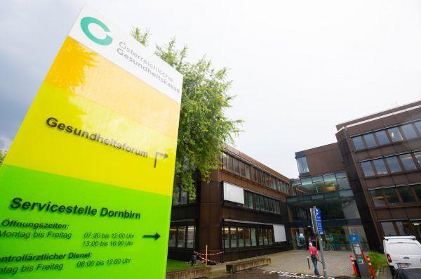 427 Mitarbeiter beschäftigt die ÖGK in Vorarlberg.Hartinger, ÖGK