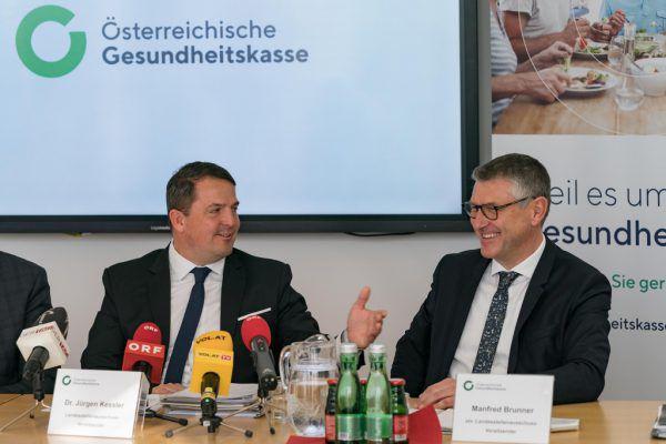 Per Juli übergibt Jürgen Kessler (l.) den Vorsitz an Manfred Brunner.Dietmar Stiplovsek/Oliver Lerch