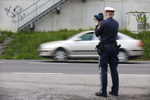 Polizei kontrollierte verstärkt.Hartinger