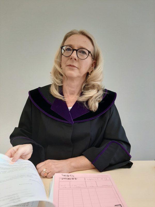 Richterin Sonja Nachbaur. Ab 1. August ist sie Vorsteherin des BG Feldkirch.Dünser
